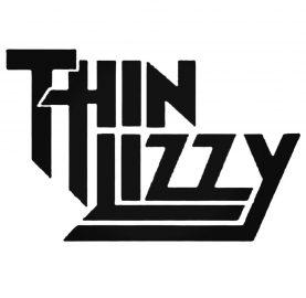 Live and Dangerous (Thin Lizzy Tribute) sligo whiplash metalfest 2019 Sligo Whiplash Metalfest 2019 Thin Lizzy Logo Decal Sticker  57455
