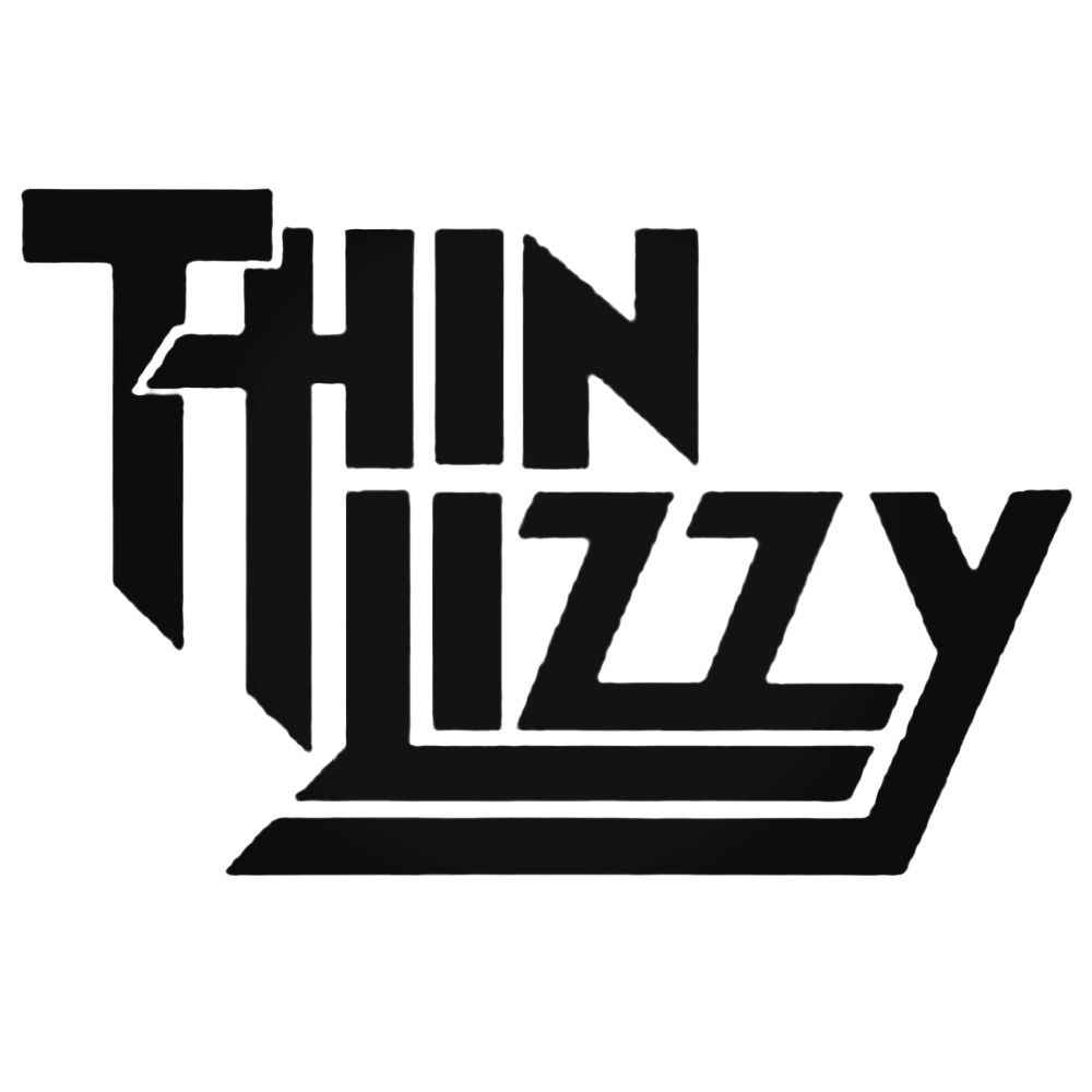 live and dangerous (thin lizzy tribute) Live and Dangerous (Thin Lizzy Tribute) Thin Lizzy Logo Decal Sticker  57455