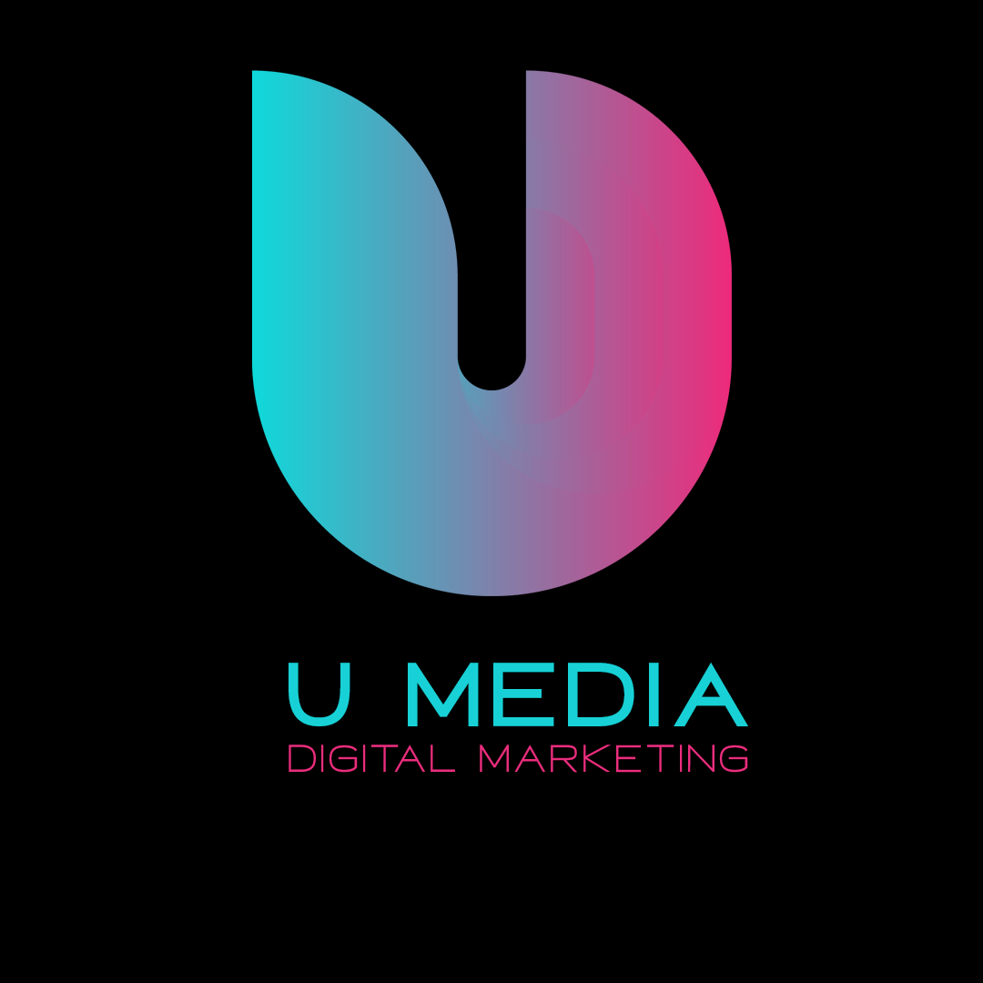 u media U Media U Media Logo black With Title